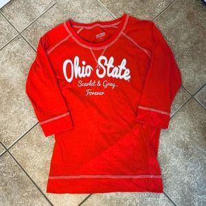 Ohio State Scarlet & Gray Forever Shirt! ❤️